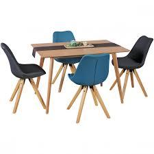 Esszimmertisch Holz Finebuy Esszimmertisch 120 X 76 X 80 Cm Mdf Holz Eiche Esstisch