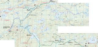 Bwca Map Bwca September 2011
