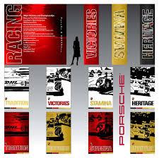 porsche racing poster transportation exhibit communications by sandor koteles at