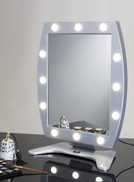 makeup artist light makeup table mirror with 12 lights mdt cantoni