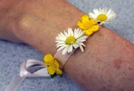 wild flower wrist corsage thriftyfun
