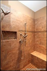 12 showers with a built in bench nc new home builder