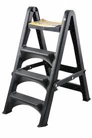 4 Tier White Wash Ladder by Toyogo 4 Tier Ladder Black Lazada Malaysia
