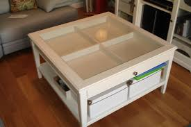 Glass Top Table Glass Top Display Coffee Table Ikea