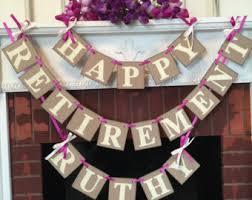 retirement party decorations retirement party banner retirement decor retirement party