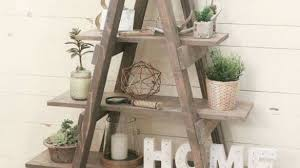 ladder shelf for bathroom house decorations within rustic ladder
