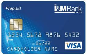 bank prepaid cards i m bank rwanda visa prepaid card