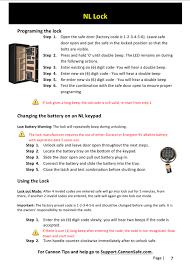 cannon nl lock instructions safe servicing u0026 lock retrofitting