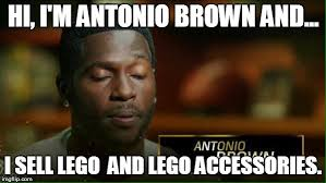 Antonio Meme - antonio brown lego imgflip