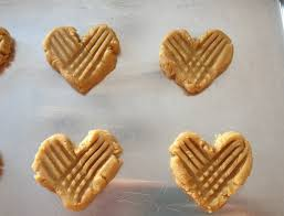 heart shaped cookies heart shaped peanut butter cookies