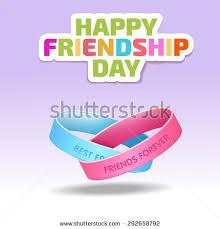 friendship bands text best friends forever illustration stock