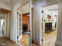 Paint Laminate Wood Floor Painting Laminate Paneling Before And After Google Search