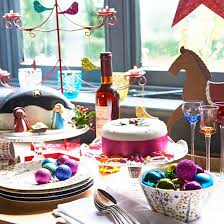Country Christmas Table Decoration Ideas by Country Christmas Table Ideas Ideal Home