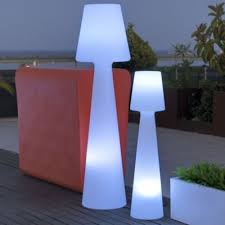 Patio Furniture Lighting Outdoor Ls Modern Patio Floor Table Ls At Lumens