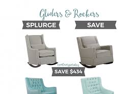 Gliders Rockers How To Find The Best Nursery Glider For Your Budget