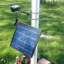solar led flagpole light halo solar flagpole light www commercialsolarproducts com