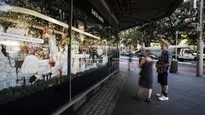 David Jones Christmas Window Decorations by Christmas Window Display At David Jones U0027 Sydney Store Upsets Shoppers