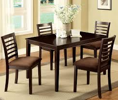 buy furniture of america cm3001t 5pk set eaton i 5 piece dining