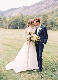 Outdoor Wedding Dresses Organic Outdoor Fall Wedding In The Mountains Once Wed