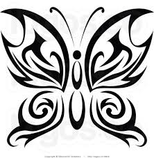 collection of 25 celtic butterfly design
