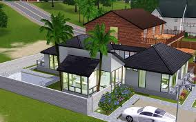 Ultra Modern House Plans Sims 3 House Plans With Grid Arts