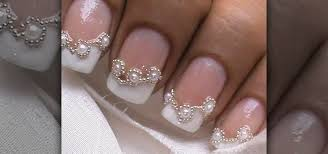how to do bridal french tip nails nails u0026 manicure wonderhowto