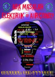 kontraktor elektrik wiring rumah baru aircond services available