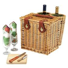 cheese basket picnic time vino wine and cheese basket target