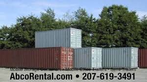 Storage Containers Portland Maine Storage Containers New Hampshire Massachusetts Abcorental
