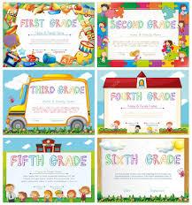 diplomas de primaria descargar diplomas de primaria plantillas de diploma de la escuela primaria archivo imágenes