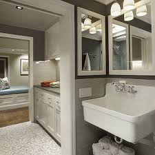 Kohler Laundry Room Sinks Turn Utility Sink Into Folding Surface Countertop Traditional