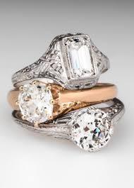 trending vintage engagement rings from eragem