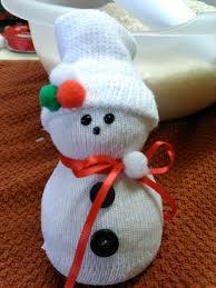 cozy sock snowmen