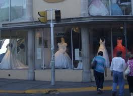 the bridal shop visit the bridal shop where an embalmed corpse models the dresses