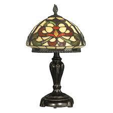 hsn tiffany style lighting dale tiffany fleur de lis table l 7325910 hsn