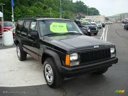 1996 black jeep cherokee sport 4wd 11174538 photo 6 gtcarlot