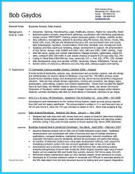 Business Analyst Resume Summary Examples by Sample Resume Business Data Analyst