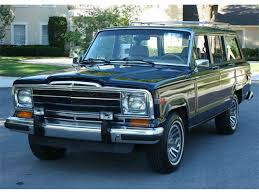 classic jeep wagoneer for sale 1990 jeep wagoneer for sale classiccars com cc 989071
