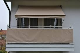 balkon sichtschutz grau balkonsichtschutz kaufen otto