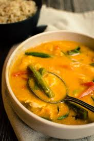 Thai Red Pumpkin Curry Recipe by Fall Thai Pumpkin Curry With Chicken Weeknight Supper