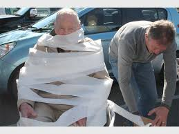 wrapped toilet paper all wrapped up in toilet paper excitement boksburg advertiser