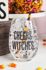 wine glass gifts cheers witches stemless wine glass s