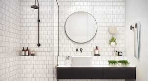 How To Make White Bathrooms Work Kitchen Bath Trends Bathrooms With Bronze Fixtures