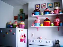 delectable kitchen theme ideas featuring cupcakes kitchen theme