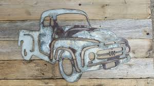 jeep metal art thin rusted metal ford truck shape only u2013 rustic metal letters