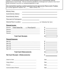event planner contract template cover letter