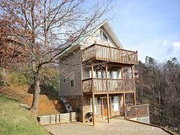 1 bedroom cabin rentals in gatlinburg tn mtn laurel chalets heavenly vision