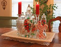 christmas decorations for dining room table candy christmas table