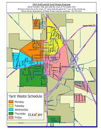 thanksgiving trash pickup garbage and recycling city of elkhorn wisconsin wi