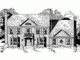 Brick Colonial House Plans 58 Best Floor Plans Images On Pinterest Architecture Colonial